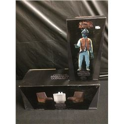 STAR WARS SIDESHOW COLLECTIBLES MOS EISLY CANTINA & GREEDO FIGURE BRAND NEW IN BOX