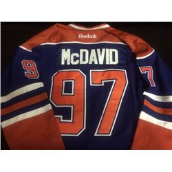 OFFICIAL BRAND NEW CONNOR MCDAVID HOCKEY JERSEY EDMONTON OILERS