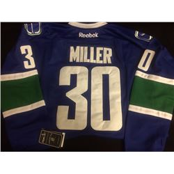 AUTHENTIC RYAN MILLER HOCKEY JERSEY VANCOUVER CANUCKS