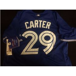 AUTHENTIC JOE CARTER BASEBALL JERSEY TORONTO BLUE JAYS
