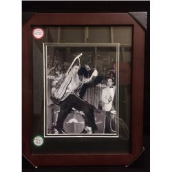 "1954 FRAMED ELVIS PRESLEY 8"" X 10"" PHOTO"