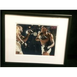"1964 FRAMED CASSIUS CLAY 9"" X 7"" PHOTO"