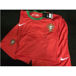 TEAM PORTUGAL SOCCER UNIFORM NEW W/ TAGS