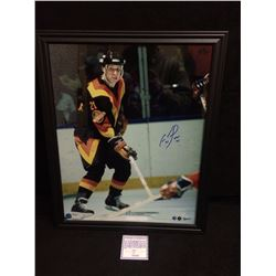 AUTOGRAPHED CAM NEELY FRAMED PHOTO VANCOUVER CANUCKS