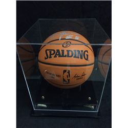 AUTOGRAPHED SPALDING BASKETBALL BY  BRUNO CABOCLO TORONTO RAPTORS W/ COA