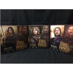 COLLECTIBLE LORD OF THE RINGS ACTION FIGURE LOT