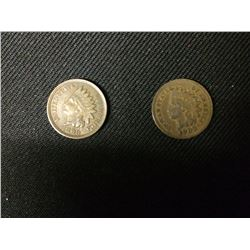 USA INDIAN HEAD PENNIES LOT