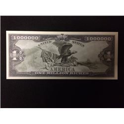 USA NOVELTY ONE MILLION DOLLAR BANK NOTE