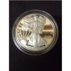 2008 USA ONE OUNCE FINE SILVER DOLLAR COIN