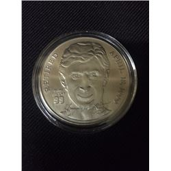 LIMITED EDITION WAYNE GRETZKY RETIREMENT COIN APRIL 18, 1999