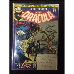 THE TOMB OF DRACULA COMIC BOOK