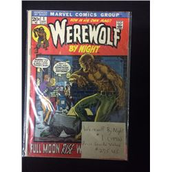WEREWOLF BY NIGHT COMIC BOOK