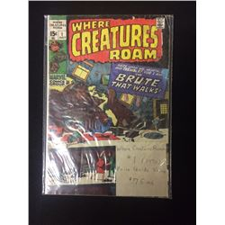 WHERE CREATURES ROAM COMIC BOOK