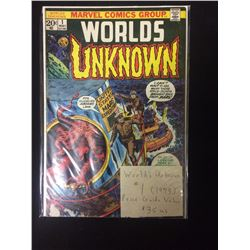 WORLDS UNKNOWN COMIC BOOK