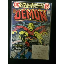 THE DEMON #1 COMIC BOOK