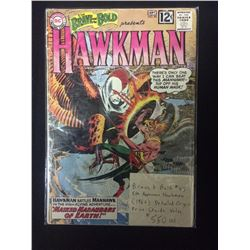 BRAVE AND BOLD # 43 HAWKMAN COMIC BOOK