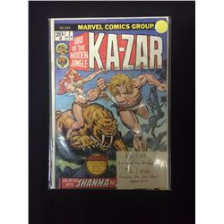 KA-ZAR LORD OF THE HIDDEN JUNGLE #2 COMIC BOOK