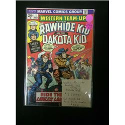 WESTERN TEAM UP - RAWHIDE KID AND THE DAKOTA KID #1 COMIC BOOK
