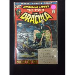 THE TOMB OF DRACULA #1 COMIC BOOK