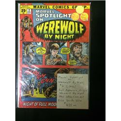 MARVEL SPOTLIGHT ON WEREWOLF BY NIGHT #2 COMIC BOOK
