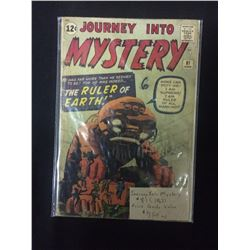 JOURNEY INTO MYSTERY #81 COMIC BOOK
