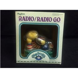 VINTAGE CABBAGE PATCH KIDS RADIO/ RADIO GO IN BOX
