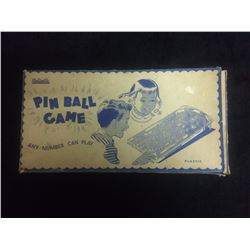 VINTAGE RELIABLE PIN BALL GAME IN BOX