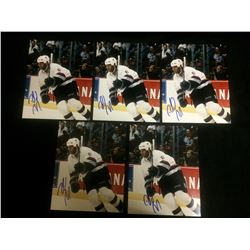 "AUTOGRAPHED DONALD BRASHEAR 6"" X 8"" PHOTO LOT"