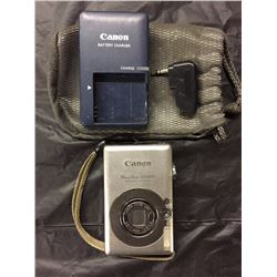 CANON POWER SHOT SD 400 DIGITAL CAMERA ZOOM LENS W/ BATTERY CHARGER