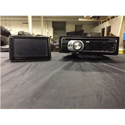 GARMIN NUVI & JVC CAR CD PLAYER