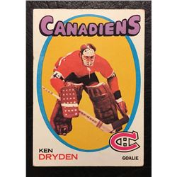1970 KEN DRYDEN ROOKIE CARD
