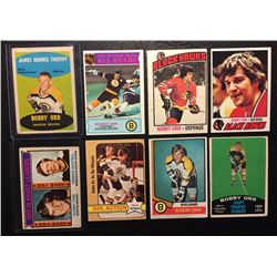 BOBBY ORR HOCKEY CARD LOT