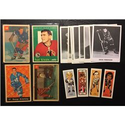 VINTAGE HOCKEY TRADING CARD LOT