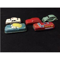 VINTAGE TIN TOY CAR LOT