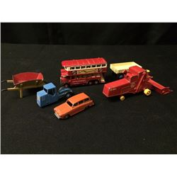VINTAGE TIN CAR/ BUS/ TRUCK LOT