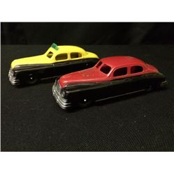 VINTAGE PLASTIC TOY CAR LOT