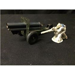 VINTAGE TOY CANNON LOT