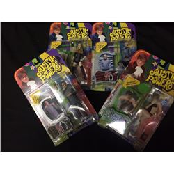 AUSTIN POWERS ACTION FIGURE LOT