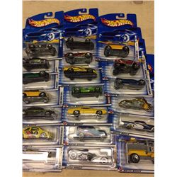 BRAND NEW HOT WHEELS CAR LOT