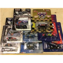 LIMITED EDITION HOT WHEELS HALL OF FAME & NASCAR CAR LOT