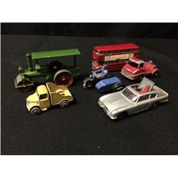 VINTAGE HUSKY TOY CAR LOT
