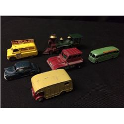 VINTAGE TOY VEHICLE LOT BY LESNEY