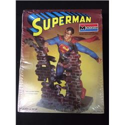MONOGRAM SUPERMAN UNASSEMBLED MODEL KIT IN BOX
