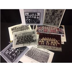 VINTAGE HOCKEY TEAM PHOTOS