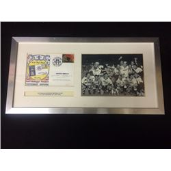 FRAMED PHOTO TOTTENHAM HOTSPUR FOOTBALL CLUB F.A CUP WINNERS 18TH MAY 1991