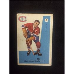 1959 PARKHURST MAURICE RICHARD HOCKEY CARD