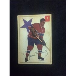 1954 PARKHURST MAURCE RICHARD HOCKEY CARD