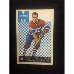 1962 PARKHURST HENRI RICHARD HOCKEY CARD