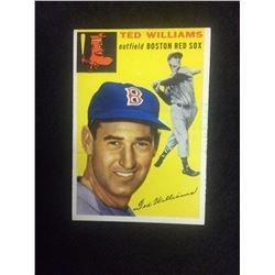 1954 TOPPS TED WILLIAMS BASEBALL CARD