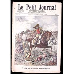 Le Petit Journal of Buffalo Bill circa 1890